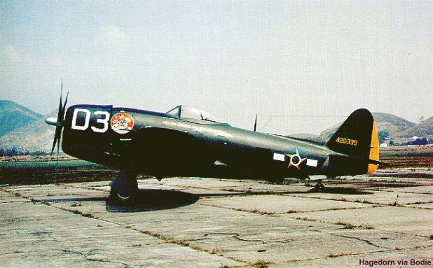 A Brazilian operated P-47D
