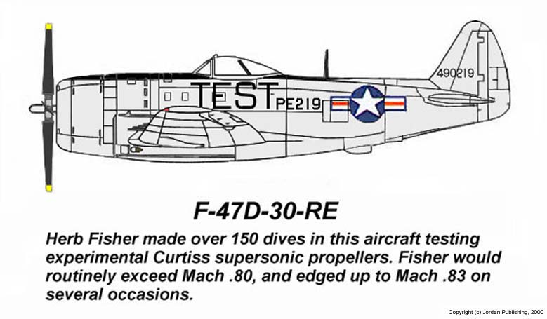 Fisher's F-47D-30-RE Thunderbolt