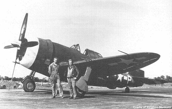 Johnson's replacement for his scrapped P-47C