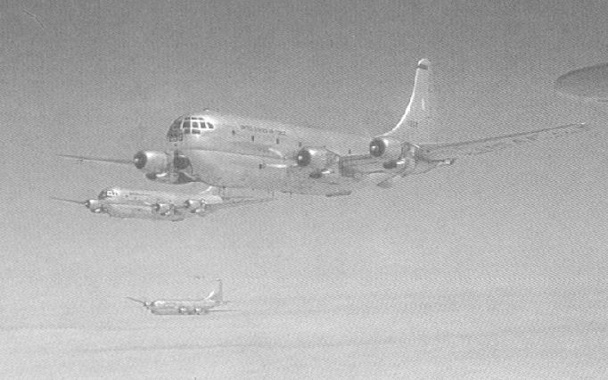 KC-97 formation