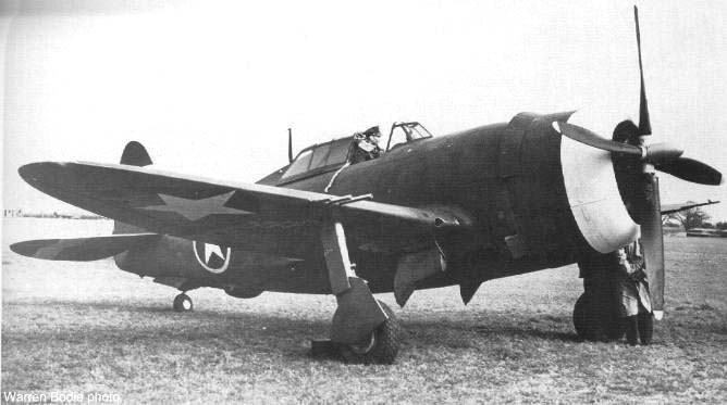 New P-47C in Britain