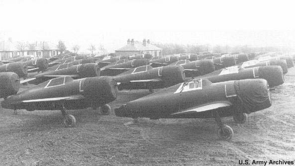 This is how the P-47's arrived in England