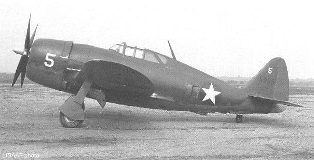 The First production P-47B