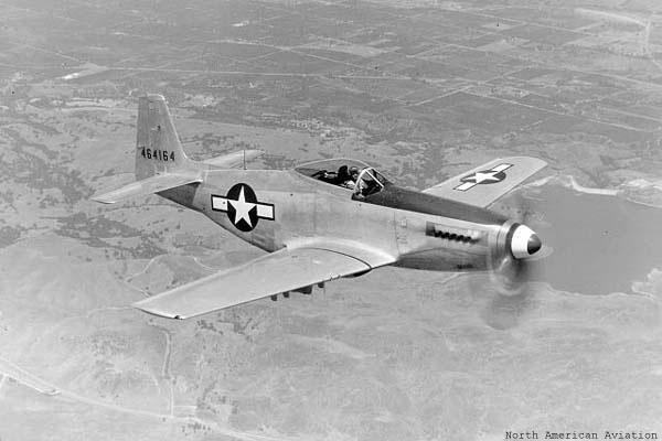 A factory new P-51H Mustang
