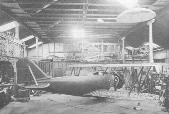 XFF-1 under construction in Baldwin