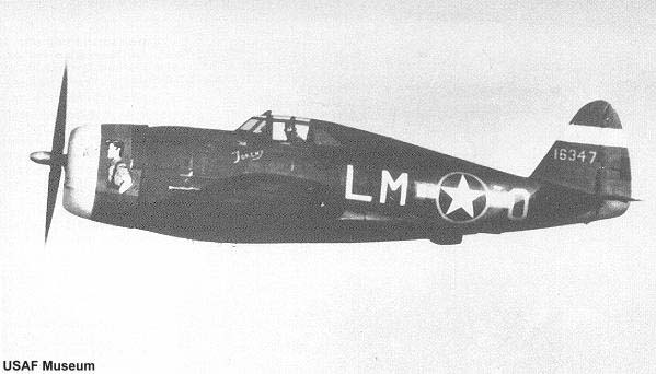 P-47C-5-RE Thunderbolt of the 56th FG